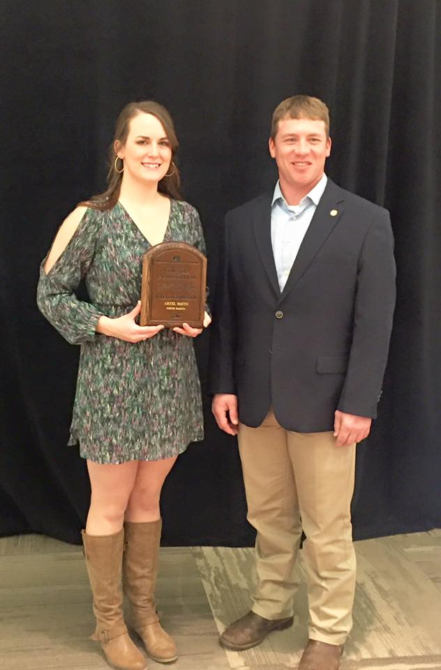 NDSU Collegiate FB member Aryel Smith competed in the national Discussion Meet in February 2016.