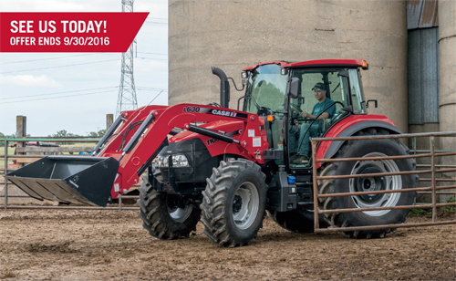 Case IH financing offer