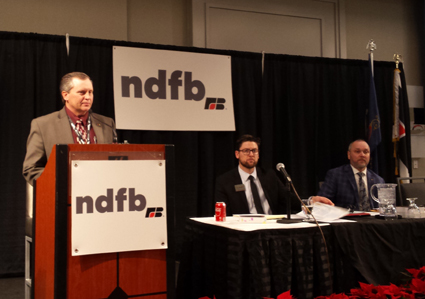 NDFB president says a strong voice for agriculture is needed
