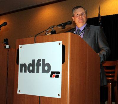 NDFB President addresses delegates