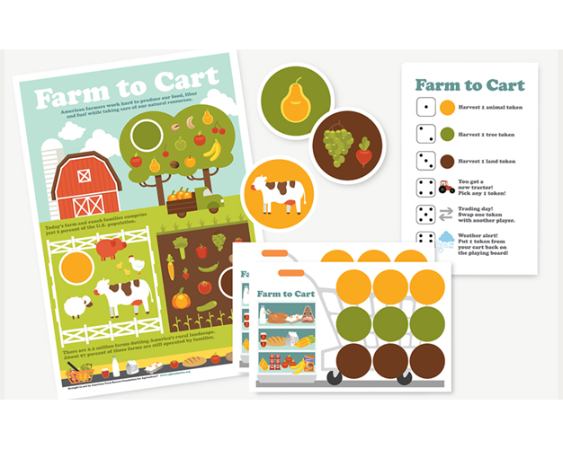 AFB Foundation introduces new farm to cart game