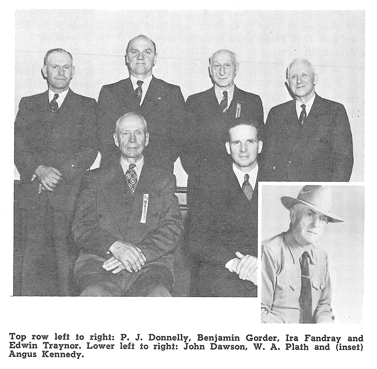 NDFB's first Board of Directors