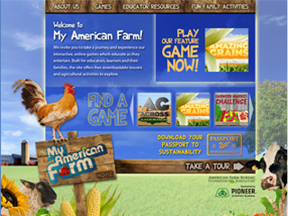 Tablet app for My American Farm now available